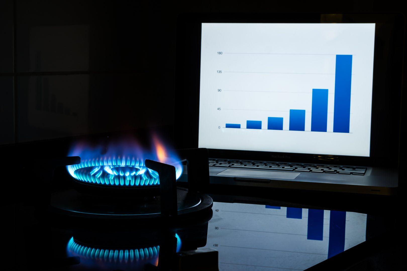 TRV de gaz à la hausse janvier 2018