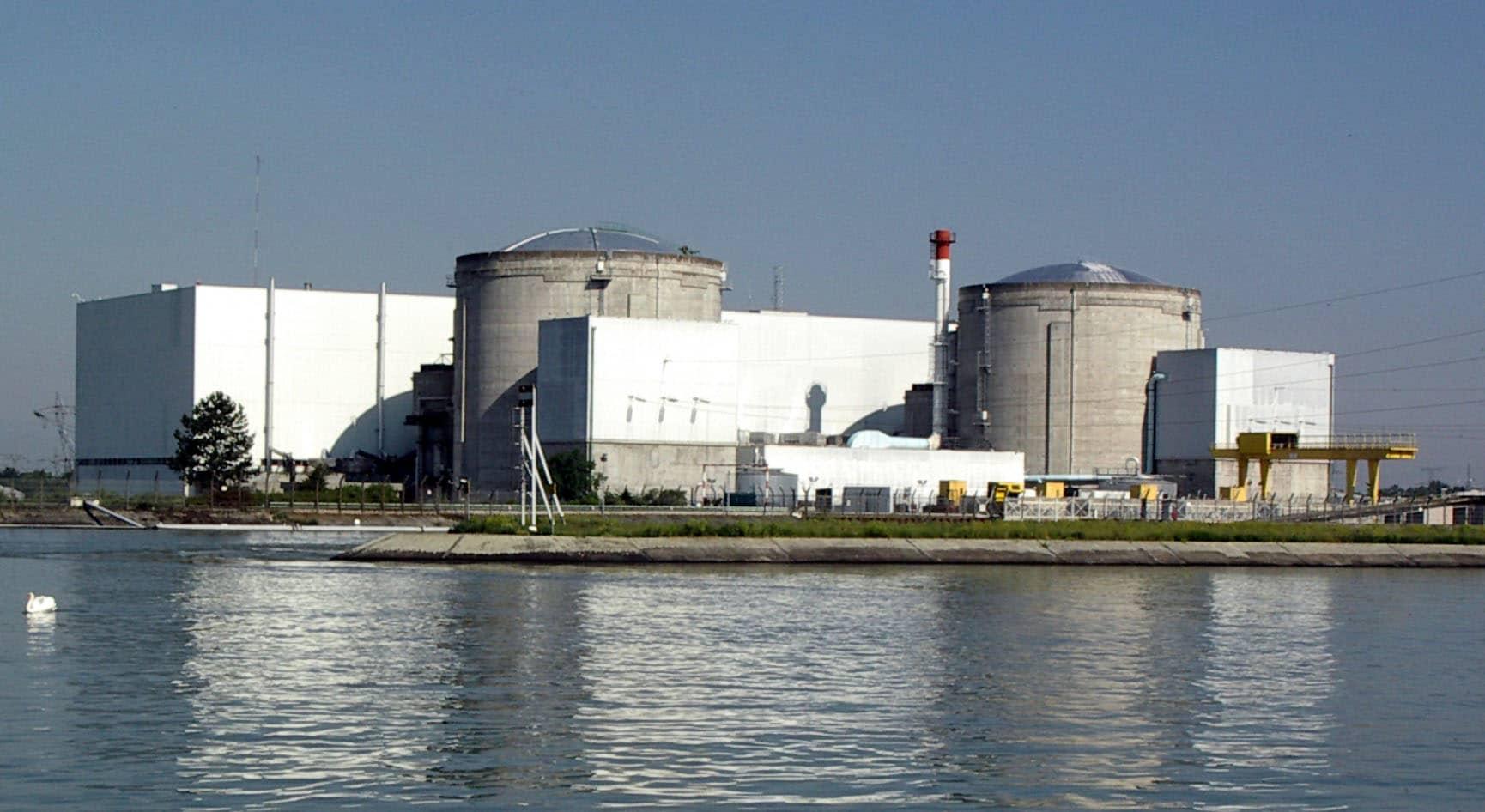 Clap de fin Centrale nucléaire de Fessenheim