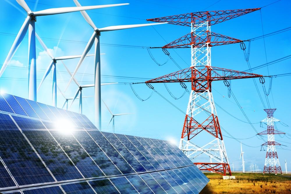 illustration marché de gros électricité